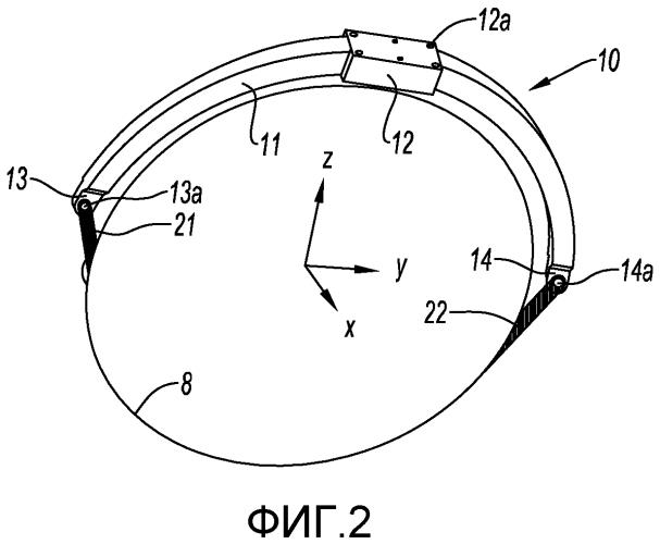 Балка подвески турбинного двигателя к конструкции летательного аппарата