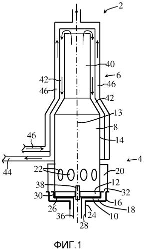 Испарительная горелка для мобильного отопительного устройства