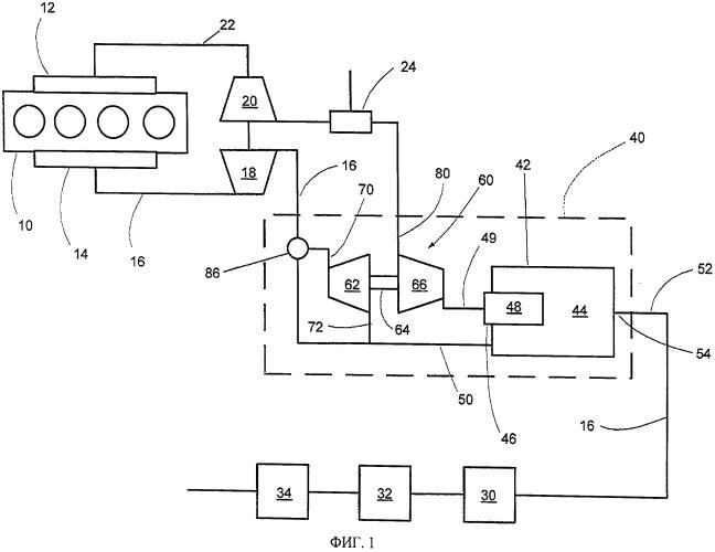 Нагревательное устройство для отработавших газов двигателя внутреннего сгорания