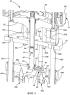 Жидкостный дозатор с двумя насосами и с возможностью регулировки положения двигателя