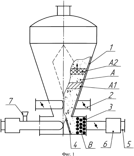 Установка для сушки дисперсных растительных материалов в полидисперсном слое инертных тел