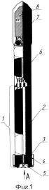 Ракета космического назначения легкого класса с высокой степенью заводской готовности к пусковым операциям и многоразовой первой ступенью