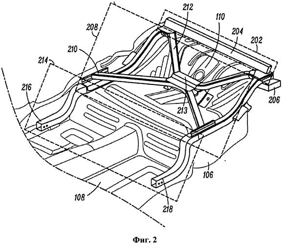 Кронштейн для крепления периферийных устройств к транспортному средству (варианты)