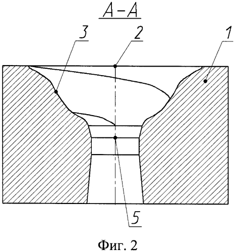 Матрица для прессования полуфабрикатов из гранулированных материалов