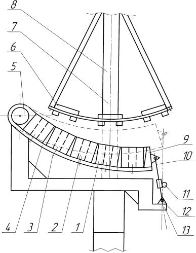 Статор сегментного генератора