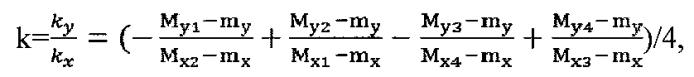 Способ калибровки электронного магнитного компаса