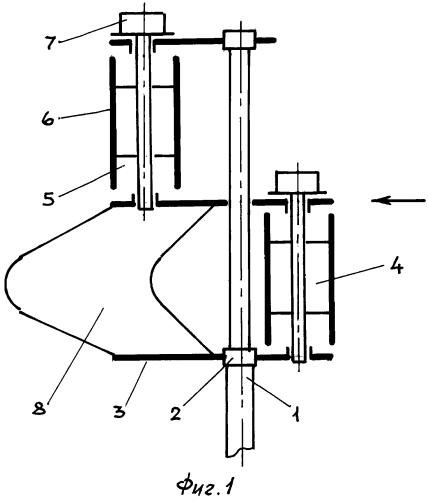 Парно-виндроторный электрогенератор