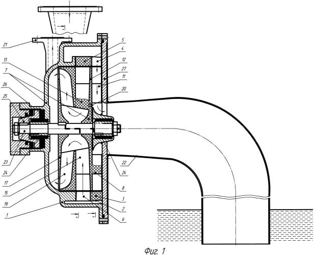 Горизонтальный гидропульсор