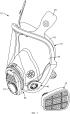 Сборочный узел респиратора, содержащий фиксирующий механизм