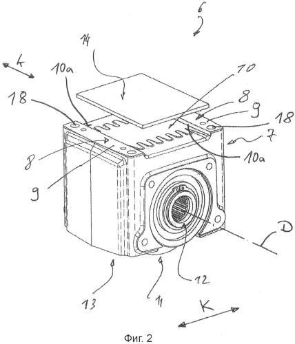 Устройство, содержащее балку ходового механизма и установленный на ней съемный блок ходового колеса, и способ сборки данного устройства