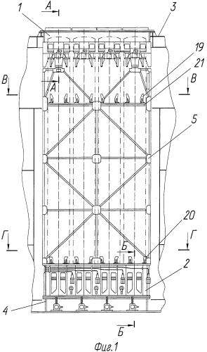 Модульная многоместная корабельная пусковая установка вертикального пуска
