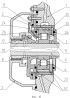 Упругодемпферная опора ротора турбомашины с демпфером с дроссельными канавками