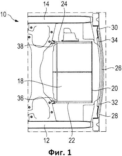 Задняя часть автомобиля