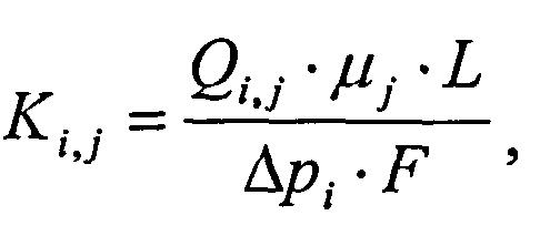 Устройство для определения фазовой проницаемости