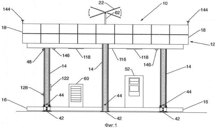 Способ монтажа модульного коммерческого объекта