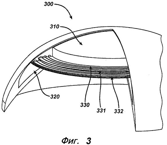 Способ формирования среды-подложки для офтальмологической линзы и среда-подложка для офтальмологической линзы
