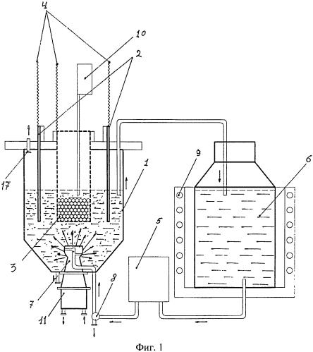 Установка для выделения серебра из серебросодержащего сплава