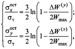 Способ определения поверхностных остаточных напряжений