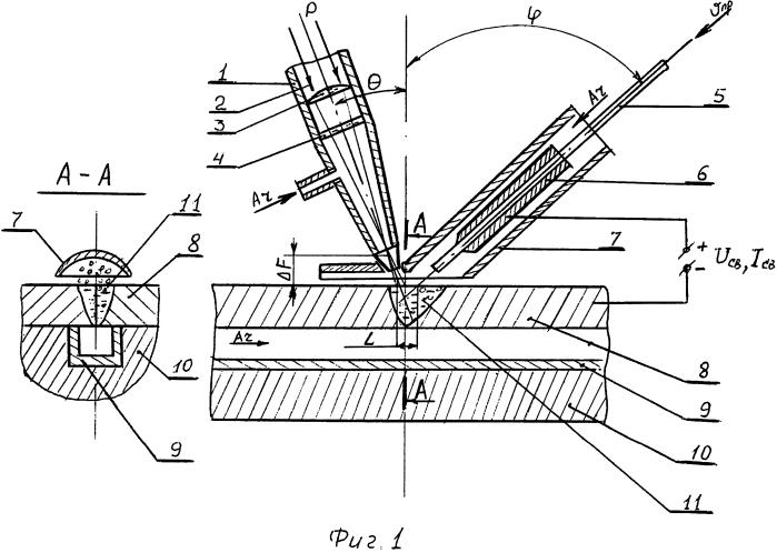 Способ лазерно-дуговой сварки плавящимся электродом стыковых соединений из алюминиевых сплавов