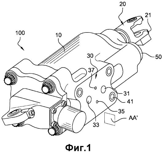 Гидравлическое устройство системы управления, такое как устройство изменения шага винта