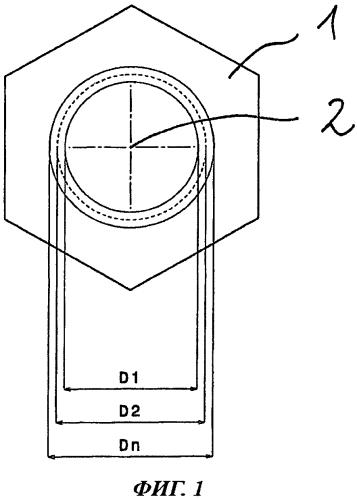 Резьбонарезная гайка, заготовка для изготовления гайки и резьбовое соединение гайки и болта