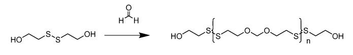 Способ деполимеризации полисульфидов и получения простых бисмеркаптодиэфиров