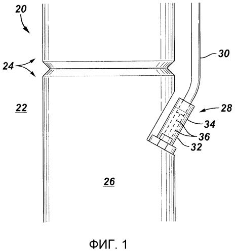 Система погружной концевой кабельной муфты для использования в скважинном применении