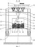 Устройство для изготовления бетонных камней и способ получения по меньшей мере двухцветных бетонных камней
