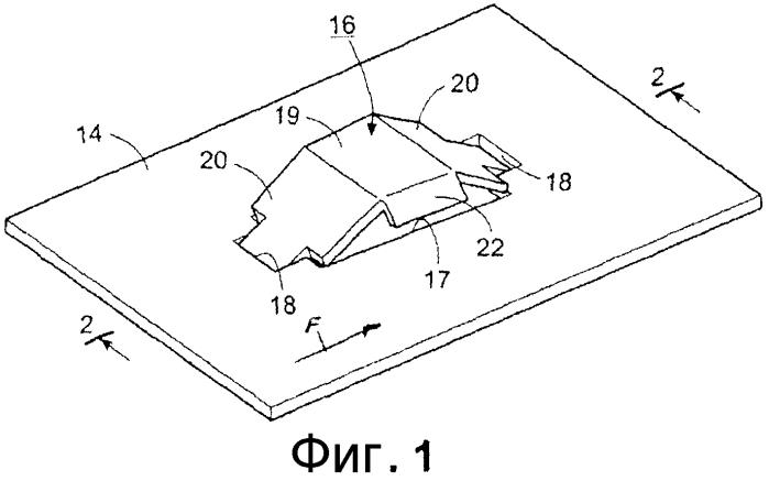 Контактная тарелка для массообменной колонны