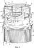 Фильтр для фильтрации текучих сред, стакан фильтра и головка фильтра
