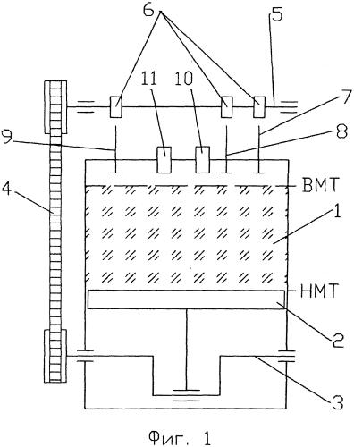 Способ работы шеститактного двигателя внутреннего сгорания