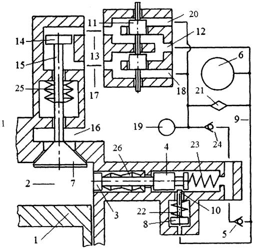 Сильфонное устройство, обеспечивающее постоянство состава газа в системе пневматического привода газораспределительного клапана двигателя внутреннего сгорания