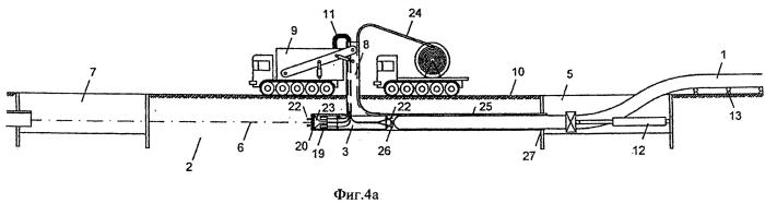 Устройство для прокладки трубопроводов в грунте