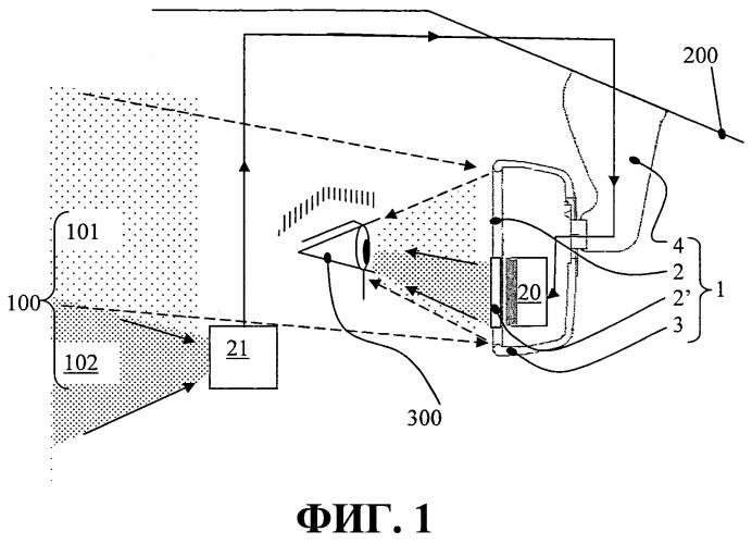 Система внутреннего зеркала заднего вида для автомобильных транспортных средств