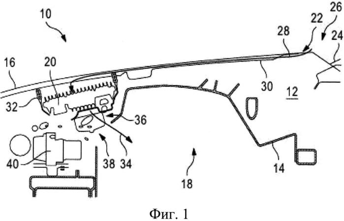 Компоновка моторного отсека автомобиля