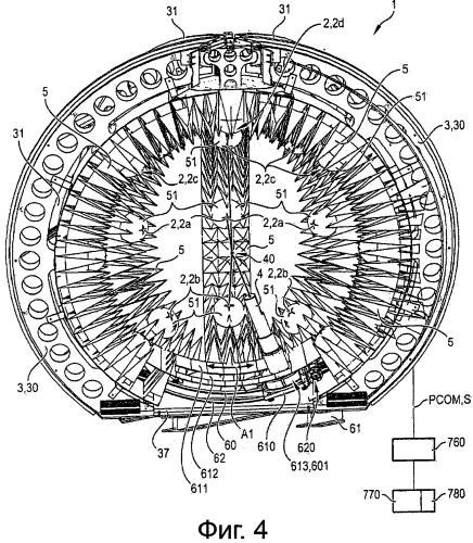 Устройство и способ для электромагнитного испытания объекта
