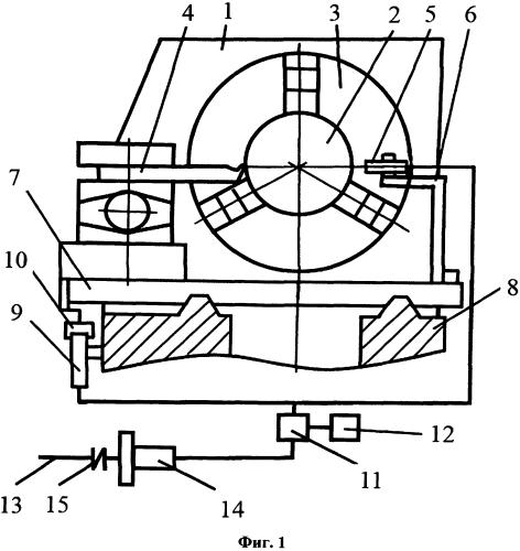 Устройство контроля точности нарезания резьбы на токарном станке