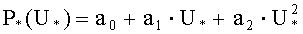 Способ определения статических характеристик нагрузки по напряжению с защитой от аномальных искажений