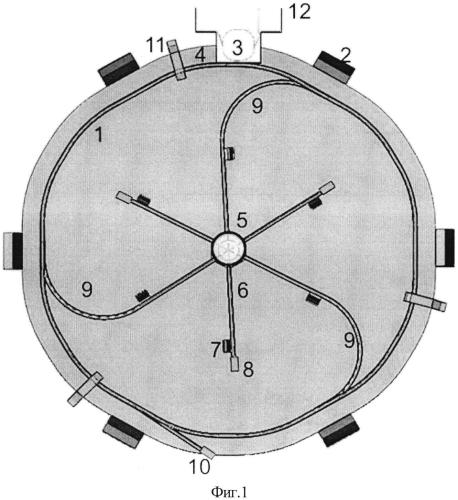 Способ формирования изображения быстропротекающего процесса с помощью протонного излучения