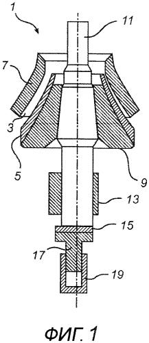 Гидравлический контур и способ управления гираторной конусной дробилкой