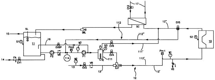 Интегрированная система предварительного нагрева и охлаждения форм