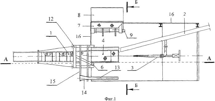 Гидроэлеваторная установка с гидровашгердным загрузочно-ограничительным устройством