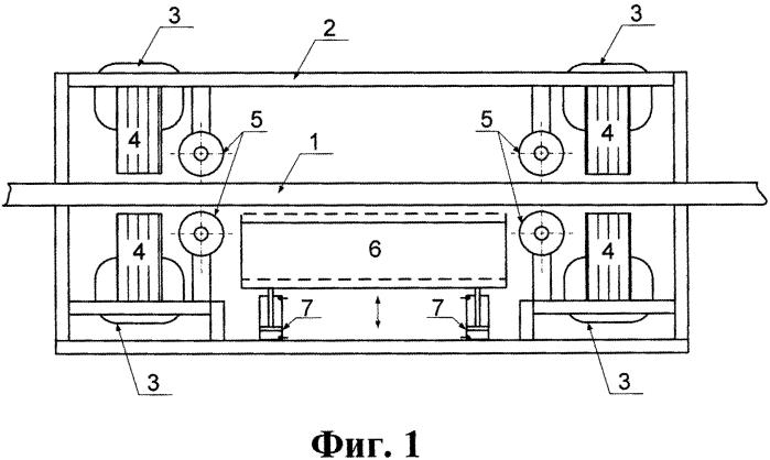 Комбинированный магнитный подвес транспортного средства