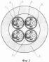 Высокочастотный симметричный огнестойкий герметизированный кабель