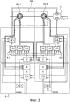 Силовой привод с многофазным двигателем и способ управления таким силовым приводом