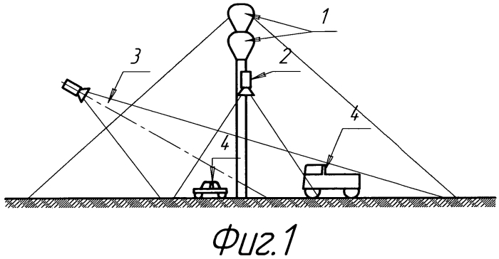 Устройство для контроля потоков автомобильного транспорта с целью учета и регулирования движения