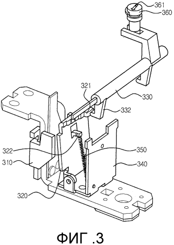 Регулировочное устройство мгновенного действия для прерывателя цепи в литом корпусе