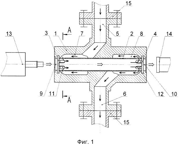 Измерительная кювета поточного анализатора серы в нефти и нефтепродуктах