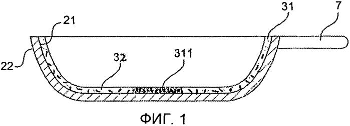 Золь-гелевое покрытие, содержащее анизотропные частицы, и кухонное изделие с таким покрытием