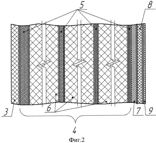 Многослойная трансформируемая герметичная оболочка